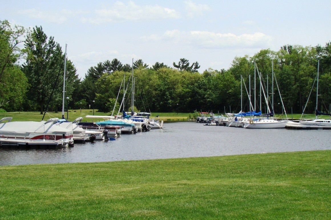 Lake Petenwell marina