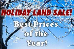 Holiday Land Sale
