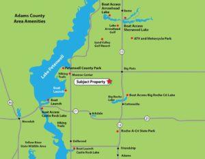 Roche A Cri Highlands Area Map