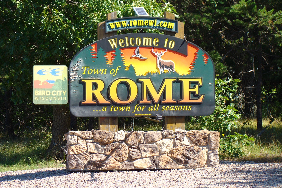 New 4 acre Properties near Rome!