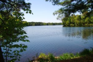 Minocqua, WI Lake Property with Boat House