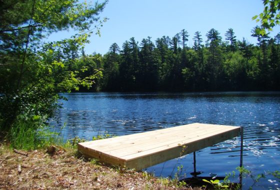 Northern WI Lakefront Cabin Property near Minocqua!