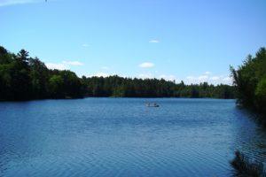 Northern WI Lakefront Cabin Property near Minocqua!